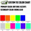 TRC Color Chart